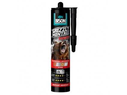 Lepidlo Bison Grizzly Montage Power White 370g, Interier  + praktický pomocník k objednávke