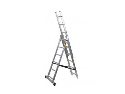 Rebrík Strend Pro DP 3x10, Alu, EN 131 max. 5.83 m  + praktický pomocník k objednávke