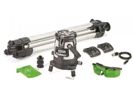 Laser KAPRO® 875GS Prolaser®, Beamfinder™, GreenBeam, v kufri  + praktický pomocník k objednávke