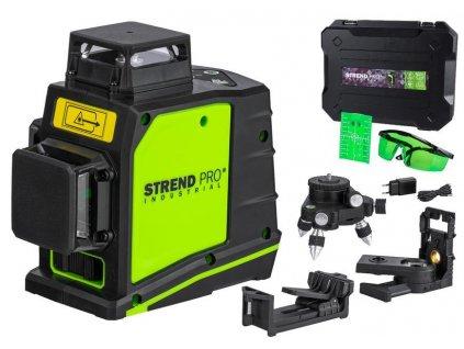 Laser Strend Pro Industrial GF360G, 3D, zelený  + praktický pomocník k objednávke