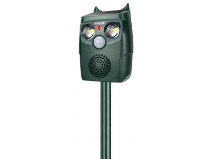 Odpudzovač eXvision SAR20, Ultrasonic, Flashlight, Solar, PIR, IP67, na kuny a divú zver  + praktický pomocník k objednávke