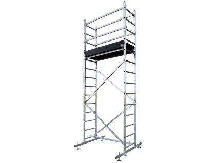 Lešenie s plošinou Strend Pro RDALD Zeus, hliníkové, 473 cm, max. 150 kg, TUV  + praktický pomocník k objednávke