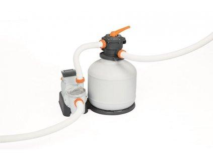 Filtrácia Bestway® FlowClear™, 58486, piesková, 11355 lit/hod  + praktický pomocník k objednávke