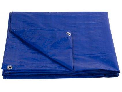 Plachta Tarpaulin Standard 15x20, zakrývacia, 80 g/m2, modrá  + praktický pomocník k objednávke