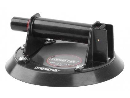 Držiak skla Strend Pro CU681, prísavný s pumpou, 1-kupolový, 20 cm, max. 110 kg, v kufri  + praktický pomocník k objednávke