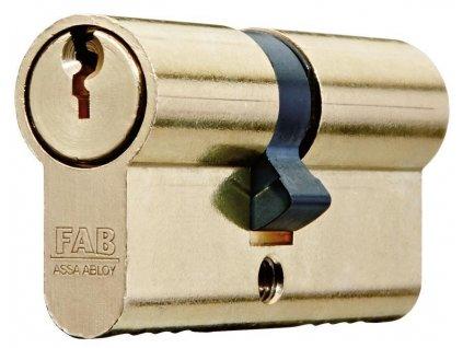 Vložka cylindrická FAB 200RSBD/45+50 , 3 kľúče, stavebná  + praktický pomocník k objednávke