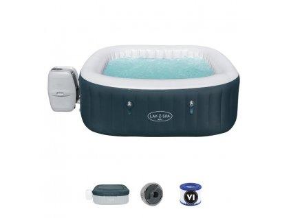 Vírivka Bestway® Lay-Z-Spa™, 60015, Ibiza AirJet™, 1,80x1,80 m  + praktický pomocník k objednávke