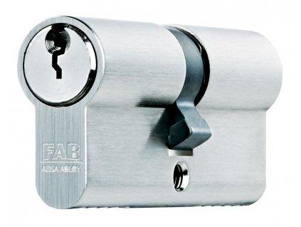 Vlozka cylindrická FAB 200RSBDNm/45+45 , 3 kľúče, stavebná  + praktický Darček k objednávke