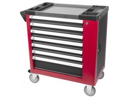 Dielenský vozík s náradím Strend Pro B239, 249 dielna skrinka, 7 zásuviek  + praktický pomocník k objednávke
