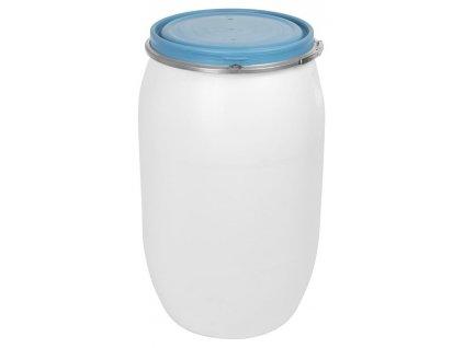 Barel Pannon Fermet, 220 lit, 471mm, mliečny, na kvasenie, veko, obruč, STRONG  + praktický pomocník k objednávke