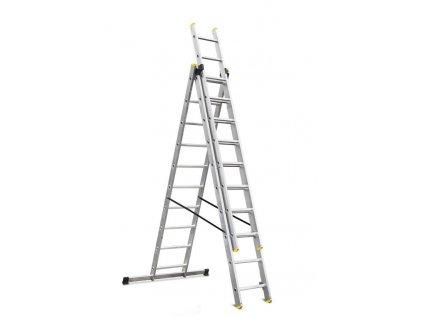 Rebrík Strend Pro DP 3x10, Alu, EN 131 max. 5.72 m, BASIC  + praktický pomocník k objednávke