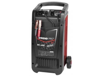 Vozík štartovací Strend Pro BC-430, 12/24V, 30 A, štart 250 A, na autobatérie  + praktický pomocník k objednávke