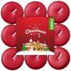 Sviecky bolsius Tealight Merry Xmass, winter cherry, čajové, bal. 18 ks  + praktický Darček k objednávke