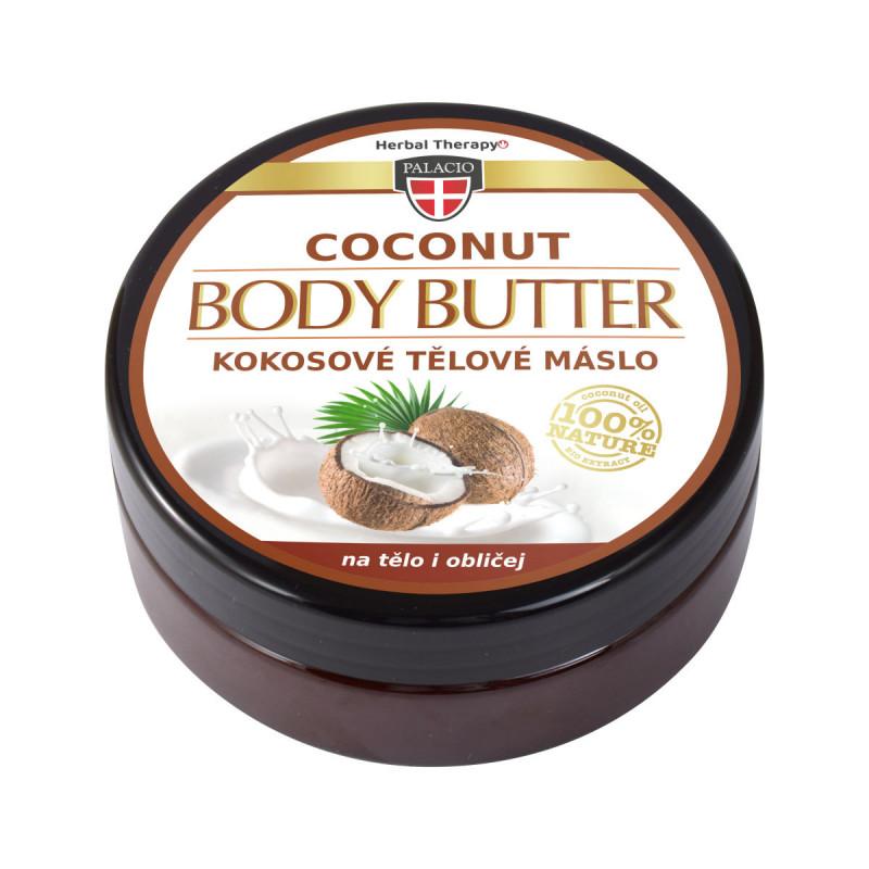 Palacio Kokosové tělové máslo, 200 ml