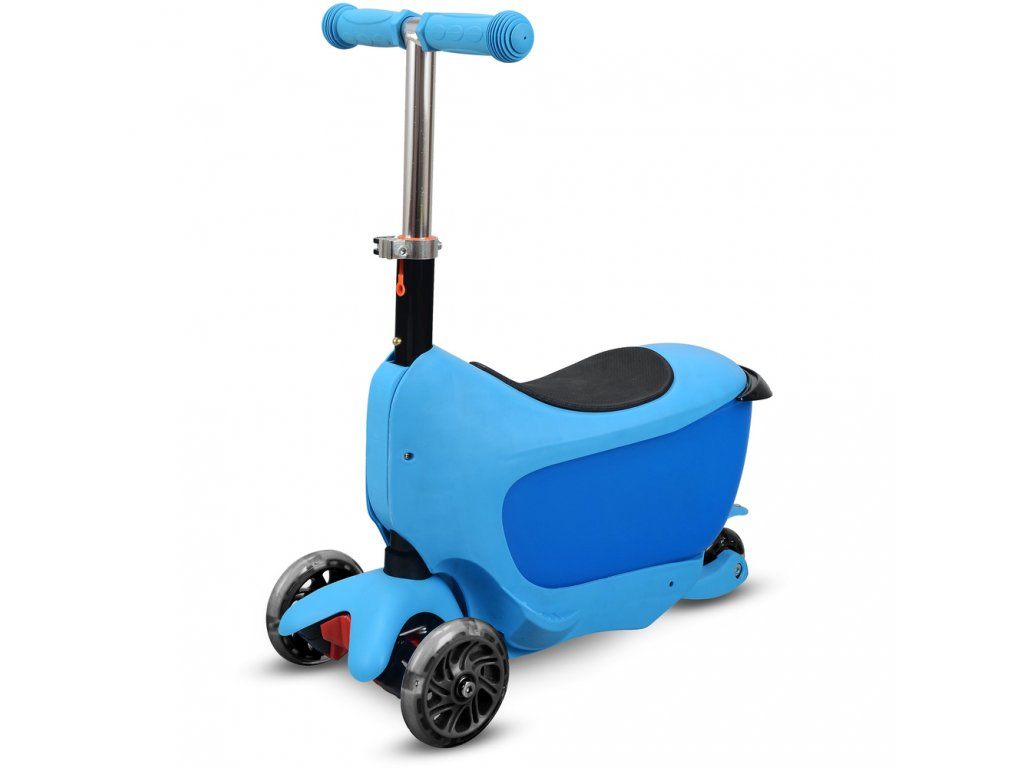 Buddy Toys BPC 4310  Naklápěcí koloběžka TAMAN 2v1 modrá