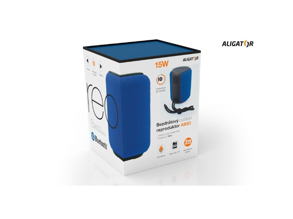 Aligator ABS3 Bluetooth outdoor reproduktor