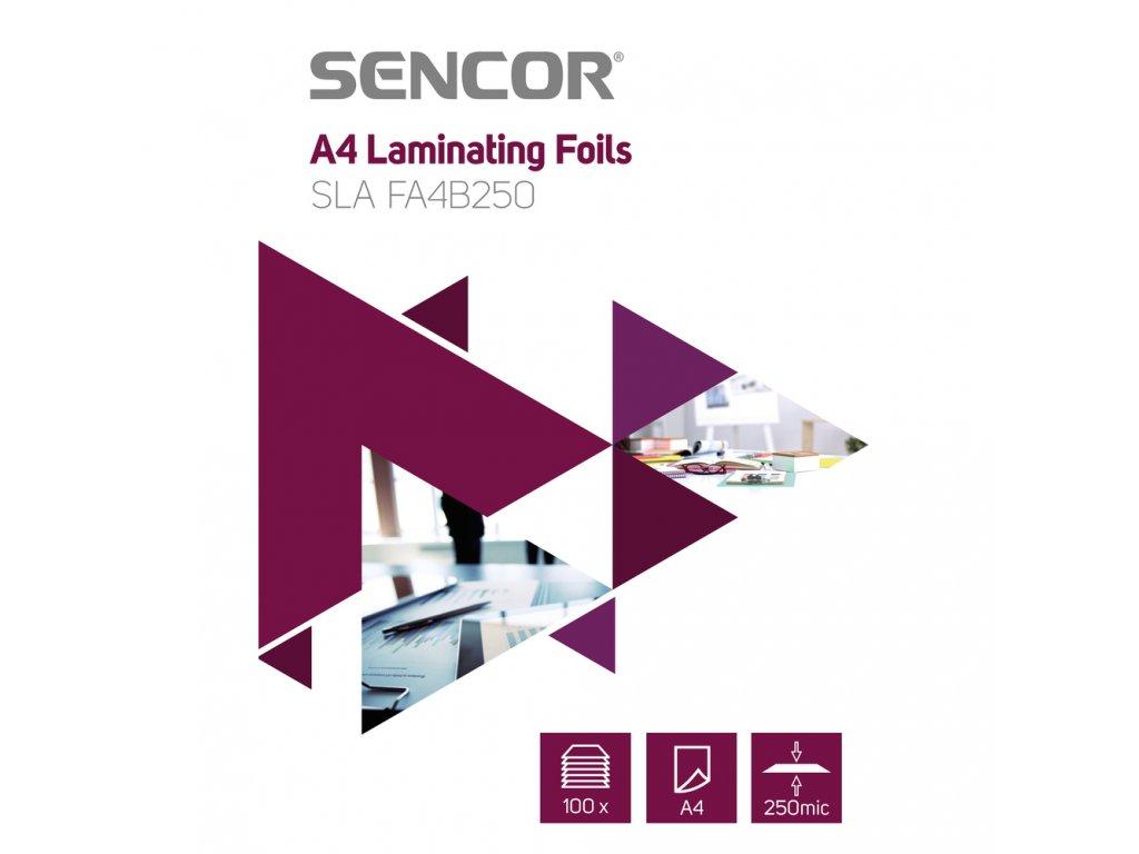 Sencor SLA FA4B250 Fólie A4 250mic 100ks