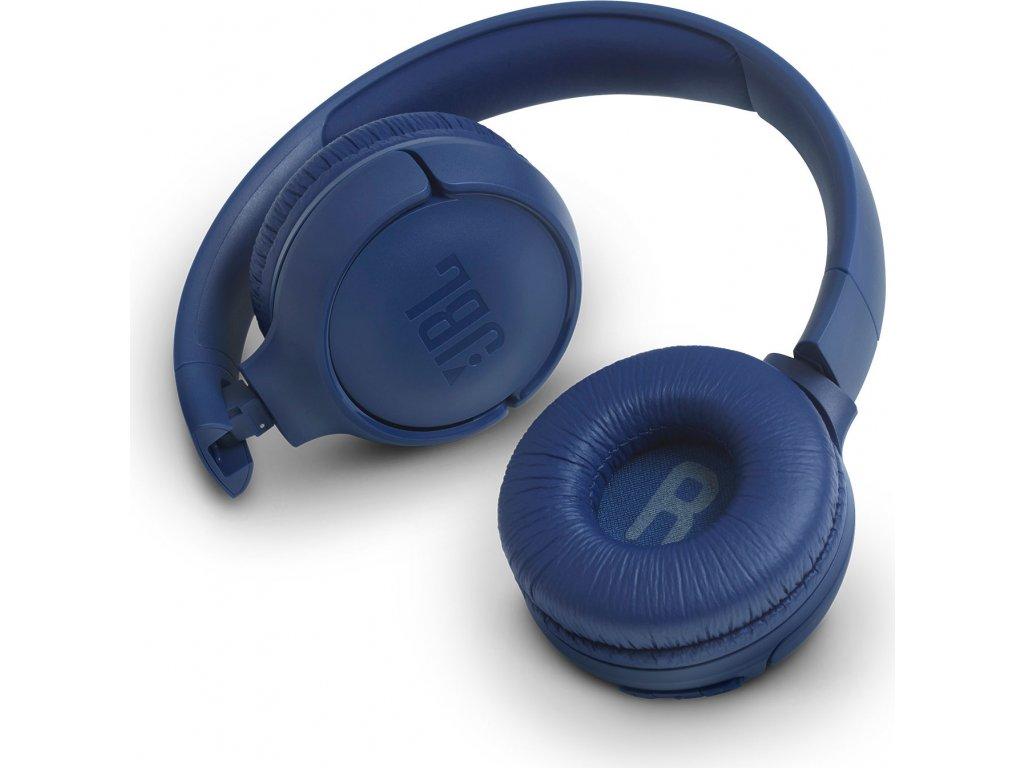 JBL Tune 500BT Modrá - Předváděcí kus - horší kartonový obal