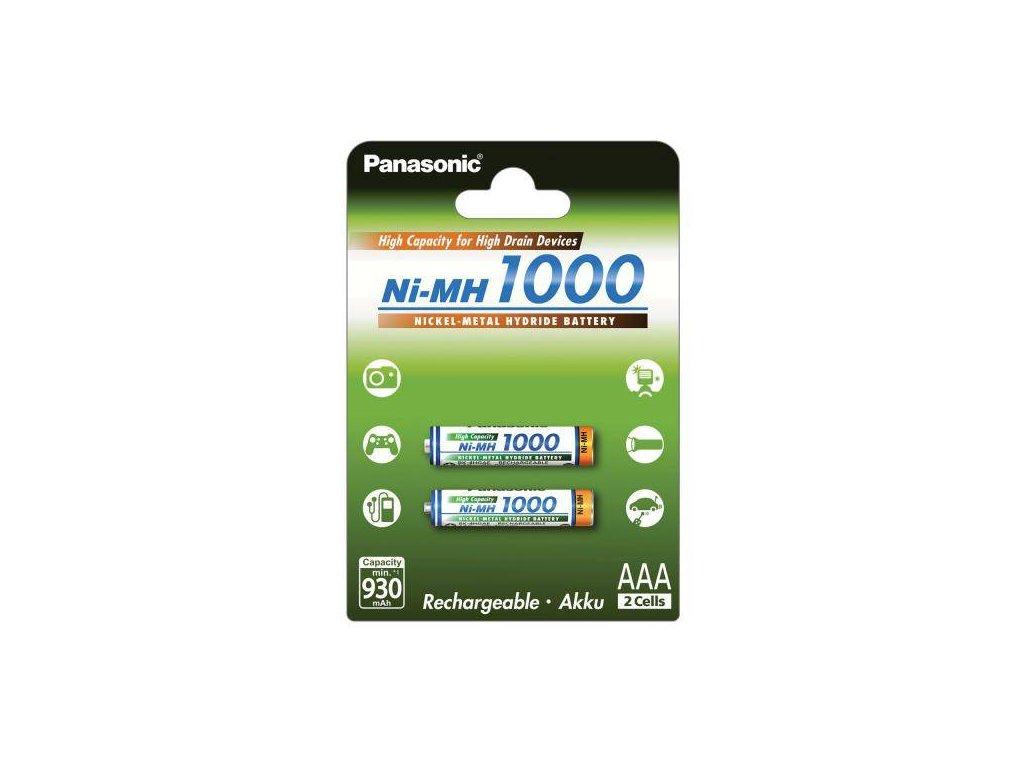 Panasonic BK-4HGAE/2BE 1000mAh Ni-MH AAA