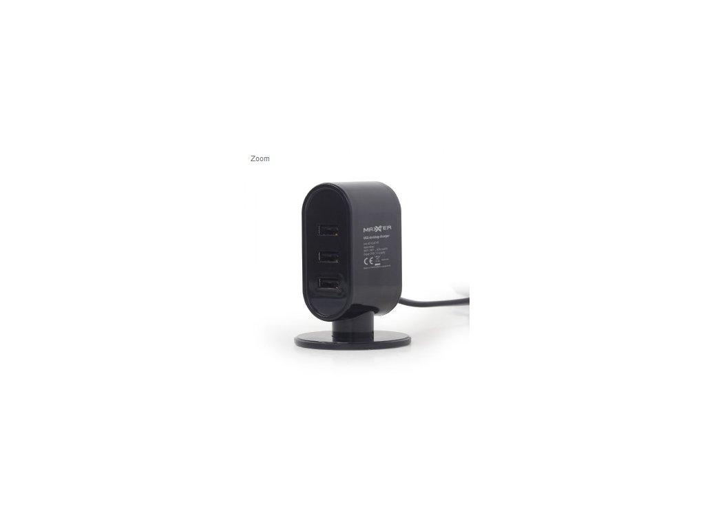 Universal USB desktop charger, 3 1 A (ACT U3AC 01)