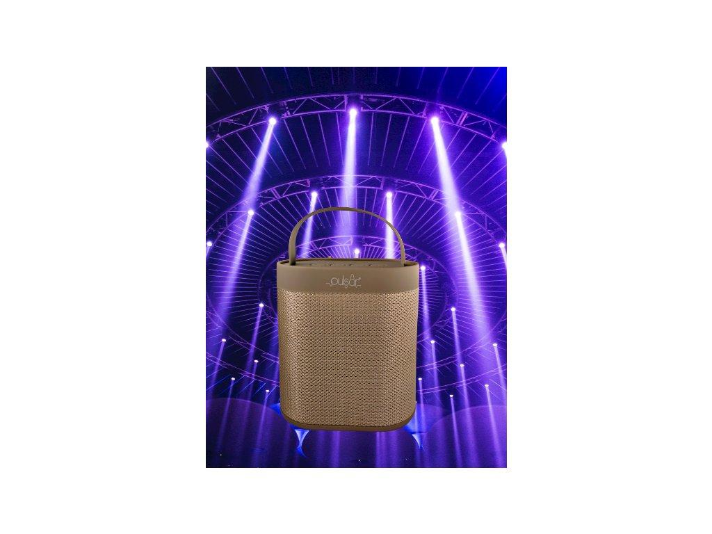 Pulsar Fabric Bluetooth reproduktor šedý