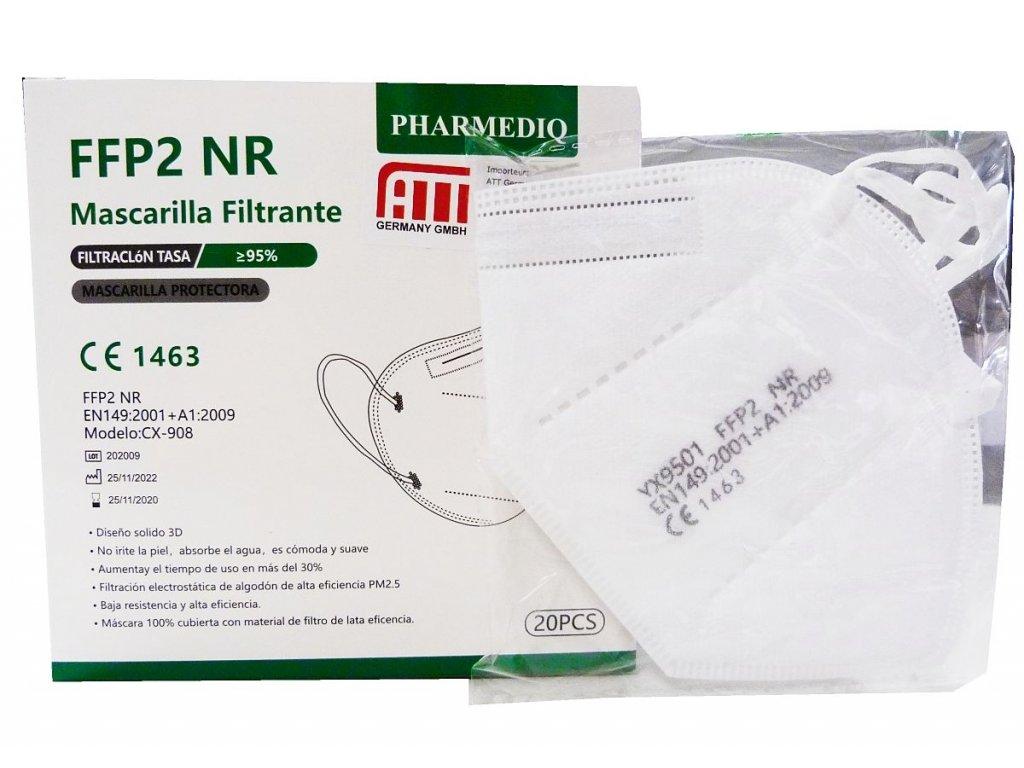 Respirátor FFP2 Pharmediq CX-908 /20KS/