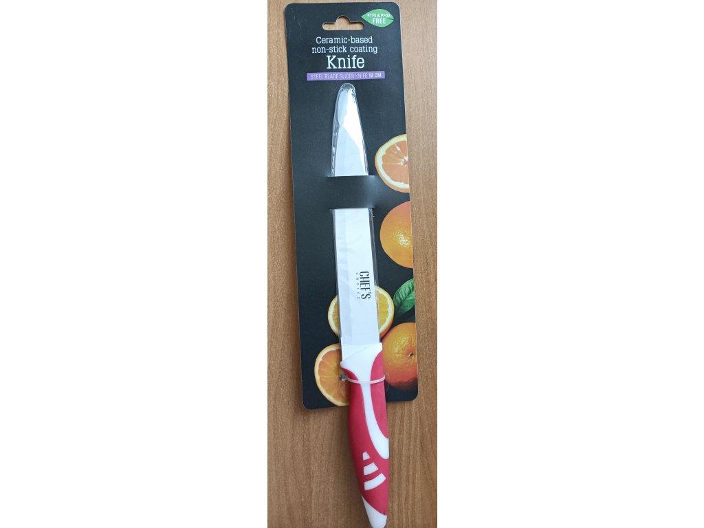 Chef´s Choice - plátkovací nůž 19cm červený