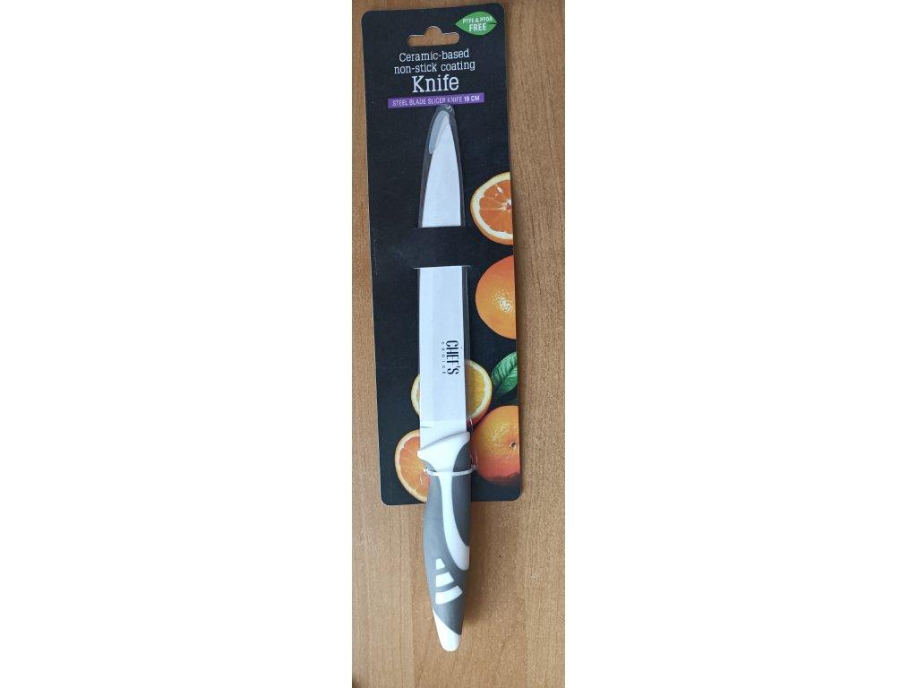 Chef´s Choice - plátkovací nůž 19cm šedý