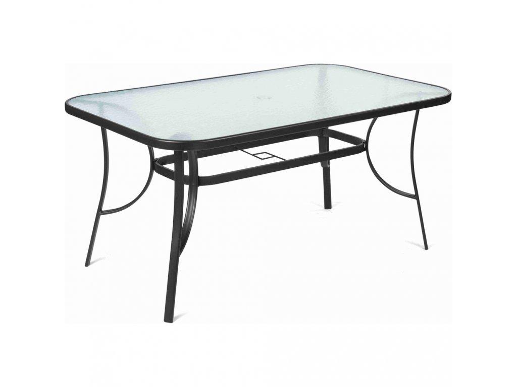 FIELDMANN FDZN 5020 - Zahradní stůl s čirou deskou