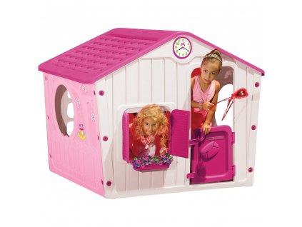 Buddy Toys Bot 1142  Domeček VILLAGE růžová