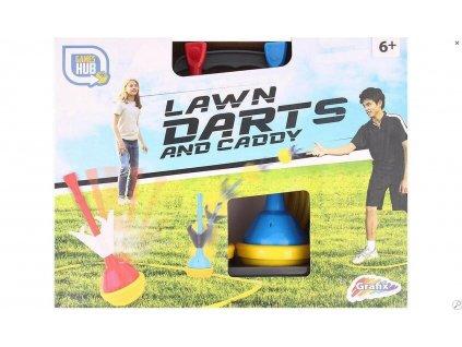 Lawn Darts And caddy Grafix games hub Dartspel voor buiten tuin darts