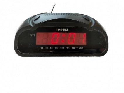 Radiobudík Impuls 72259 černý