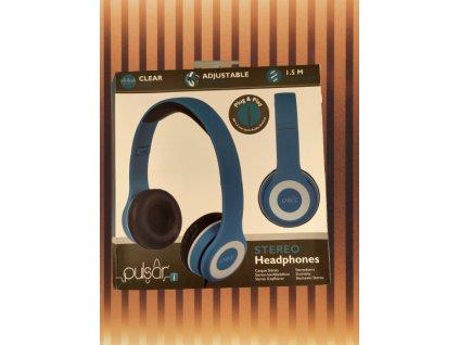 Pulsar stereo sluchátka 2571562 modrá