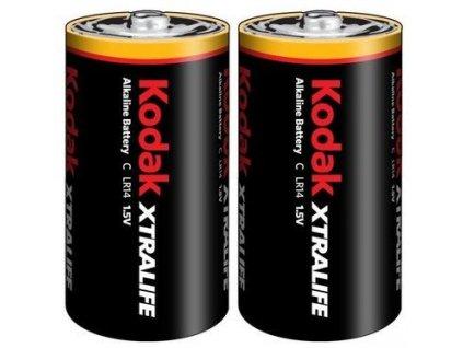 KODAK XTRALIFE alkalická baterie C /2ks/