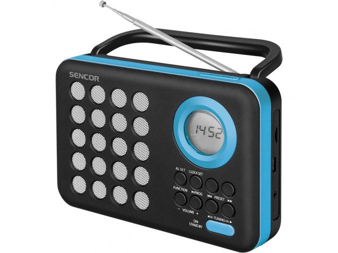 Sencor SRD 220 BBU - Rádio s USB/MP3