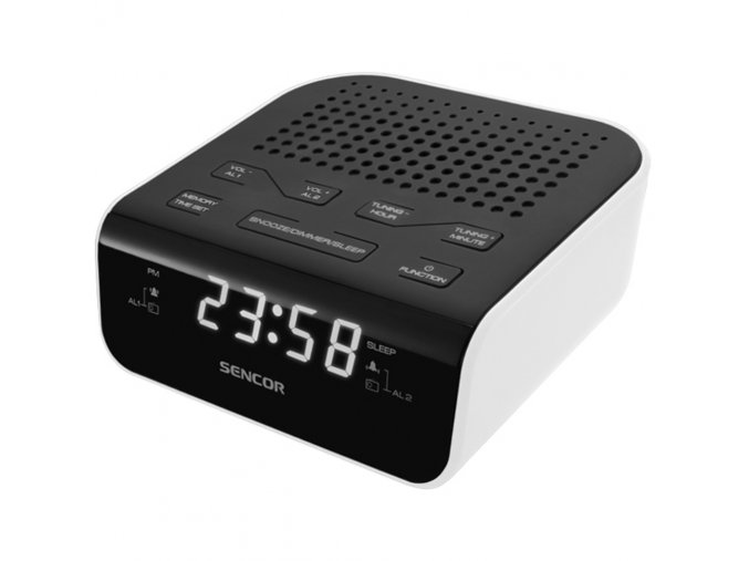 Sencor SRC 136 WH radiobudík