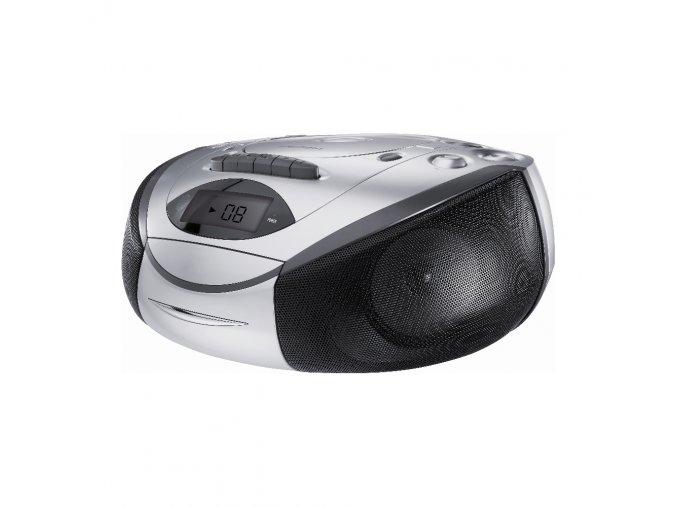Grundig RRCD 3720 DEC  - přenosný radiomagnetofon s CD přehrávačem