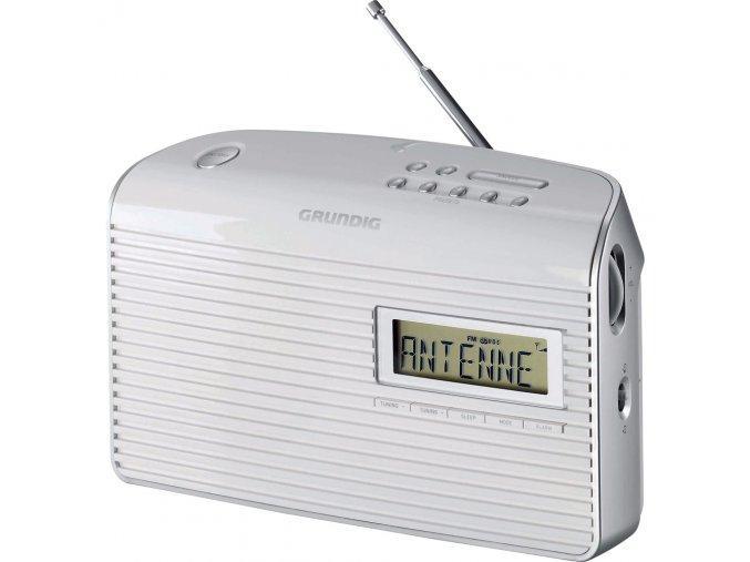 MUSIC 61 WHITE FM RADIOPŘIJÍMAČ GRUNDIG  - radiopřijímač s vysokou citlivostí