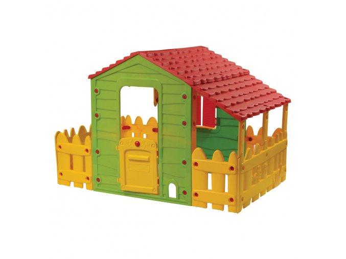 Buddy Toys Bot 1180  Domeček FARM s verandou a plotem