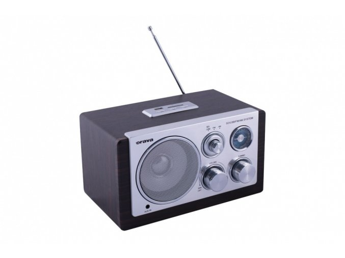 retro radio orava rr 29 b s aux usb sd