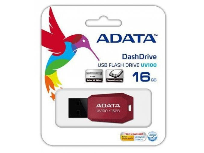 Screenshot 2019 11 11 A DATA DashDrive Series UV100 16GB USB 2 0 flashdisk, slim, červený