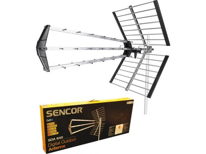 Sencor SDA 640 venkovní DVB-T anténa