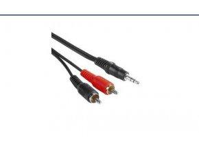 kabel jack 3 5mm 2xcinch m m 2m