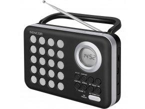 Sencor SRD 220 BS - Rádio s USB/MP3