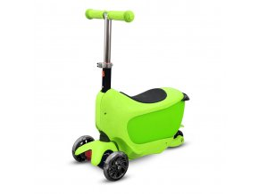 Buddy Toys BPC 4311  Naklápěcí koloběžka TAMAN 2v1 zelená