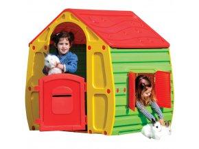 Buddy Toys Bot 1010  Domeček MAGICAL červená