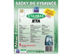 Sáčky do vysavače Jolly ETA2 MAX 4ks
