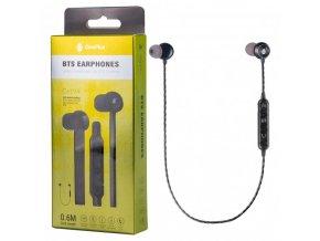 Magnetická Bluetooth sluchátka PLUS C6194, černá