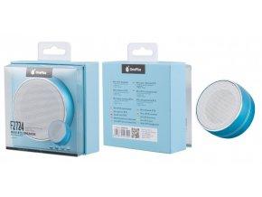Mini speaker PLUS F2724 s FM rádiem, blue