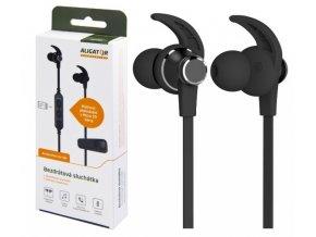 Bluetooth sluch.ALIGATOR MST4,magn., microSD,černá